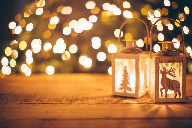 Lighting creates a warm atmosphere
