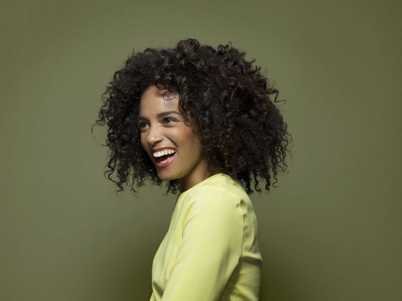 beauty natural curls