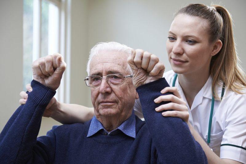 stroke arm shoulder