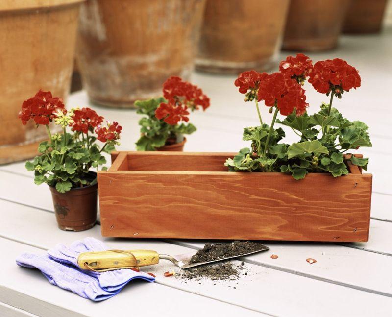 flower box diy wood