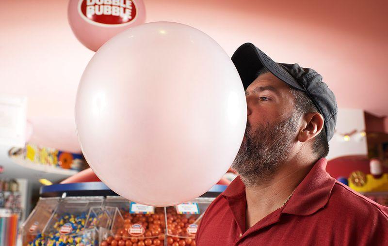 Largest bubblegum bubble blown