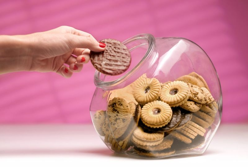 high-carb cookies and sweets