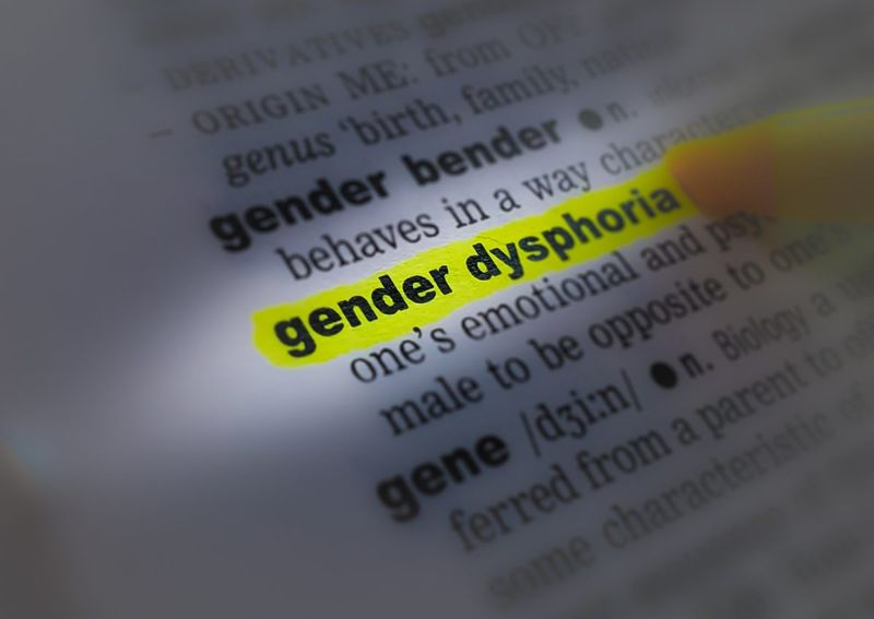gender dysphoria dictionary page