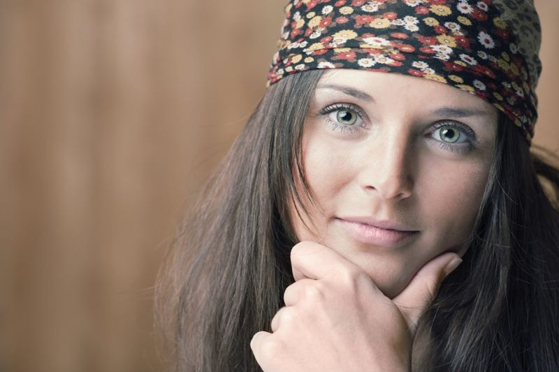 headscarf bandana woman