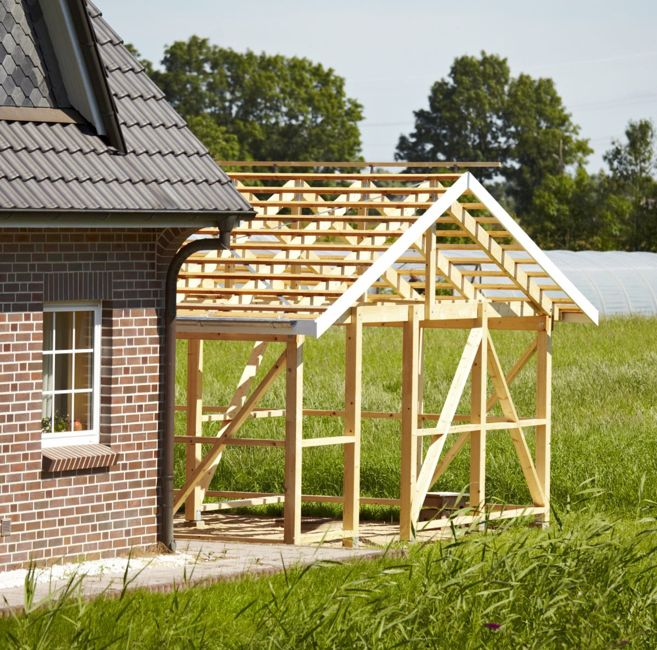 rafters overhang weather protection