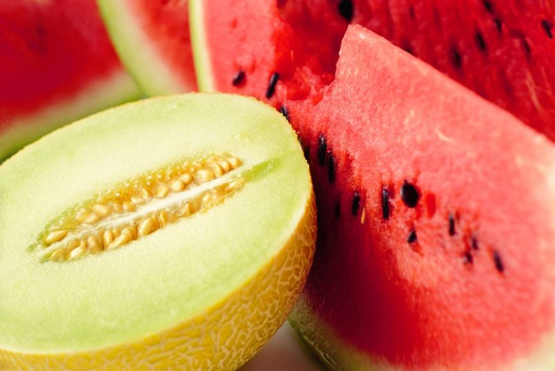 low-carb melons