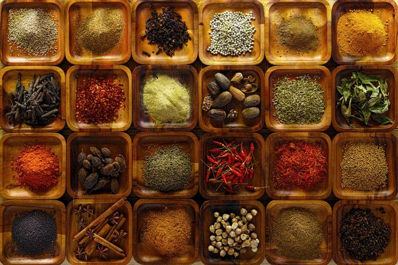 Exotic spices are great gifts