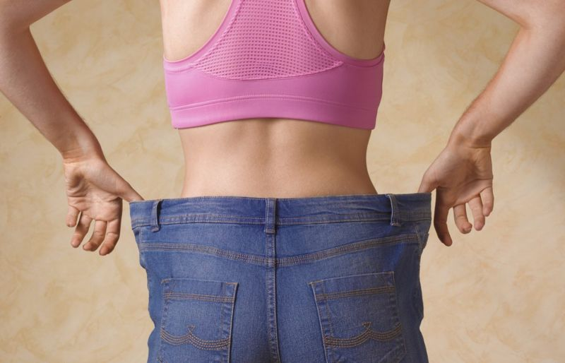 Weight loss visceral belly fat