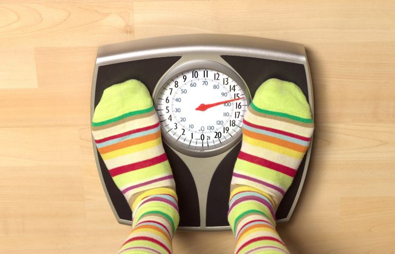 Stepping on scales