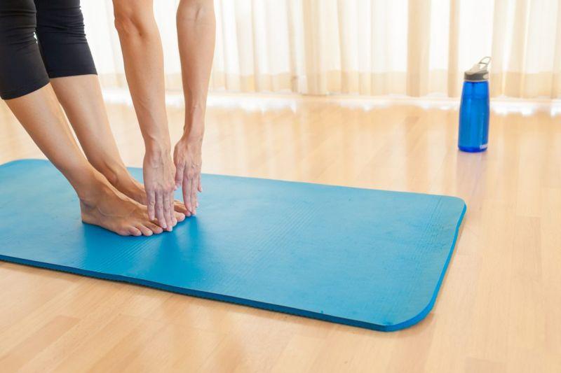 bending over habituation exercise