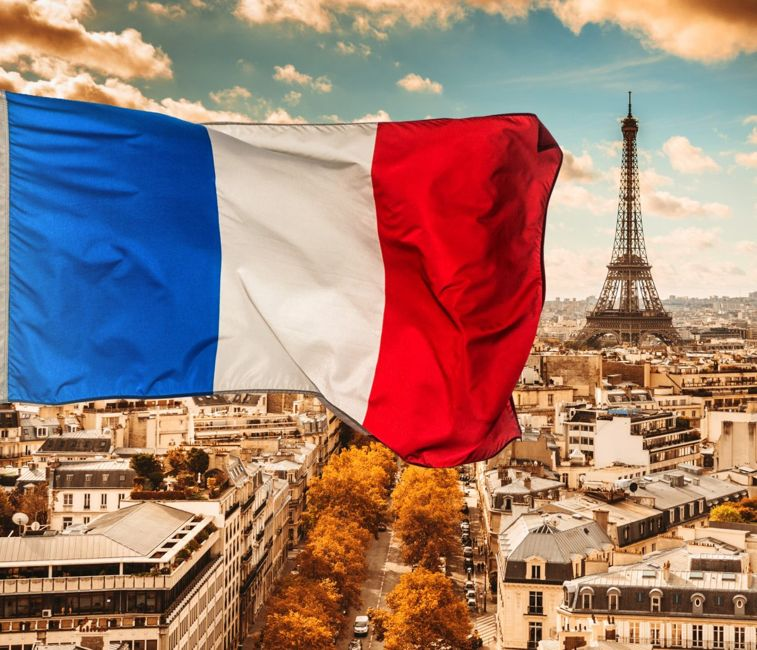official holiday flag french