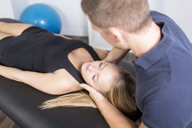 physical therapist patient maneuver