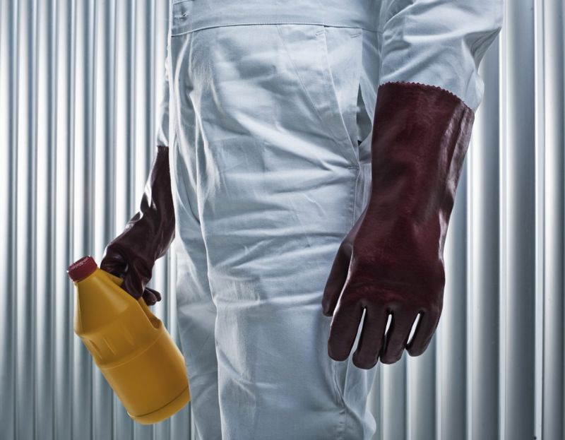 chemicals protective clothing rust remover