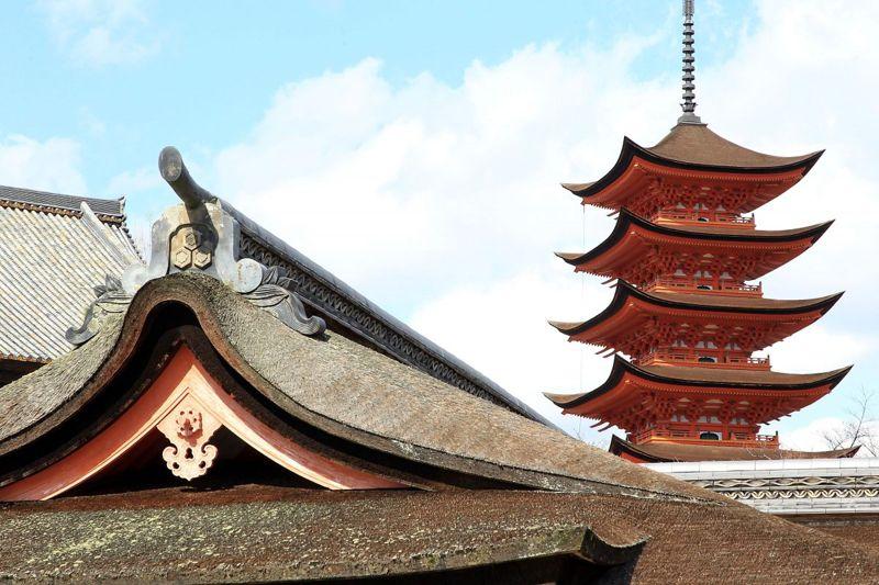 Itsukushima Shrine in Hiroshima