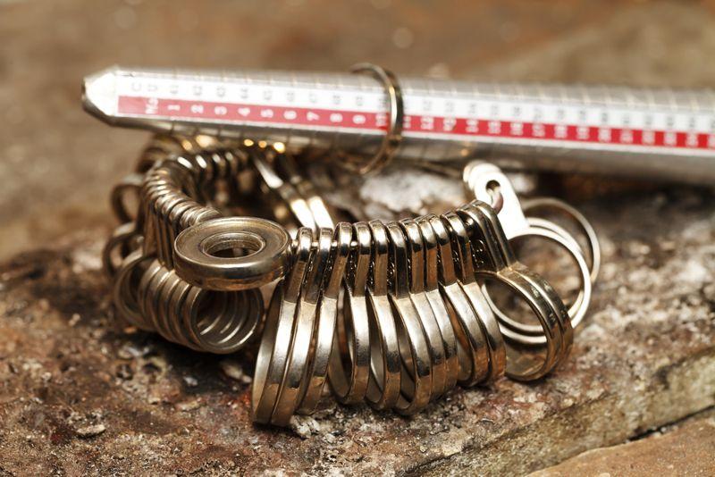 a handmade jeweler process, manufacture of jewelery