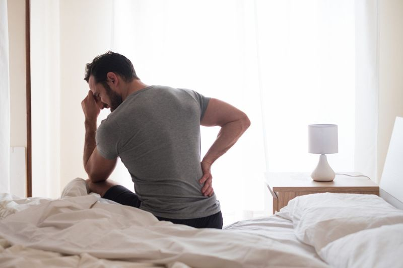 overworked muscle back pain