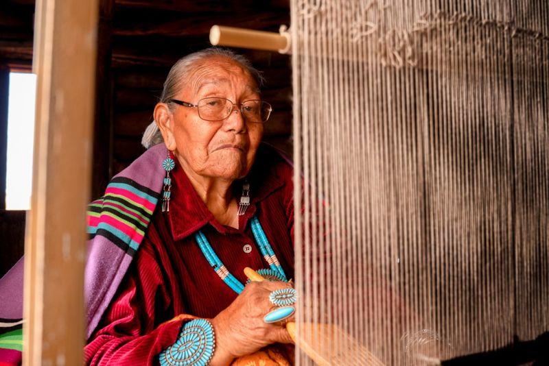 new mexico poverty senior woman