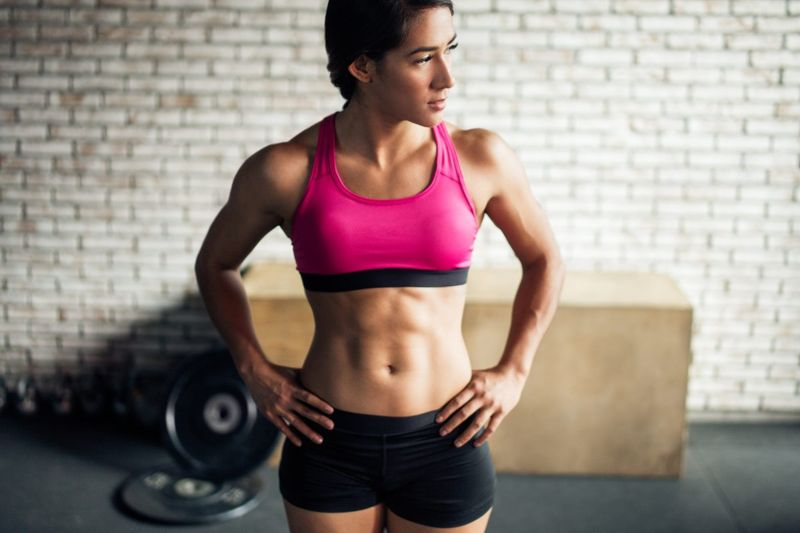 abdominal muscles flat belly