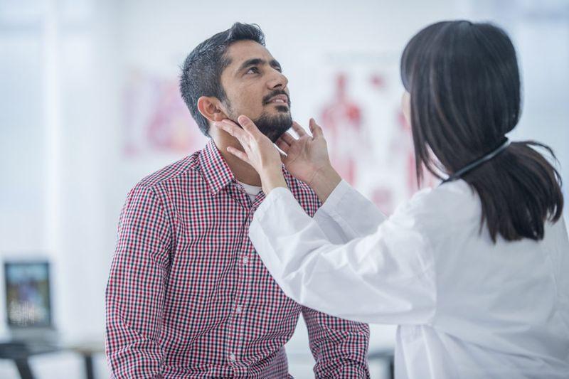assess doctor lymph nodes