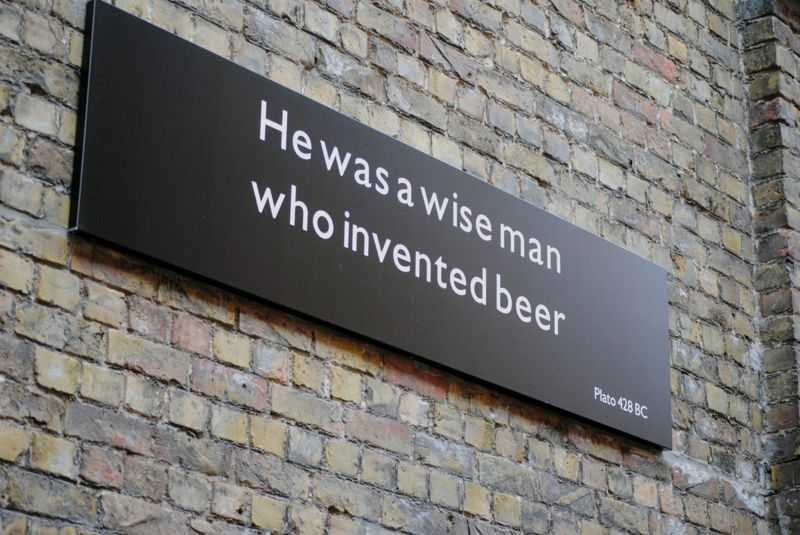 Beer quote by Plato