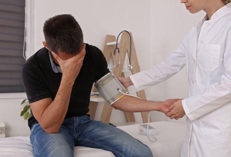 dysautonomia blood pressure