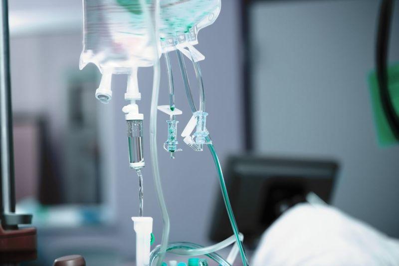 IV antibiotics fluids