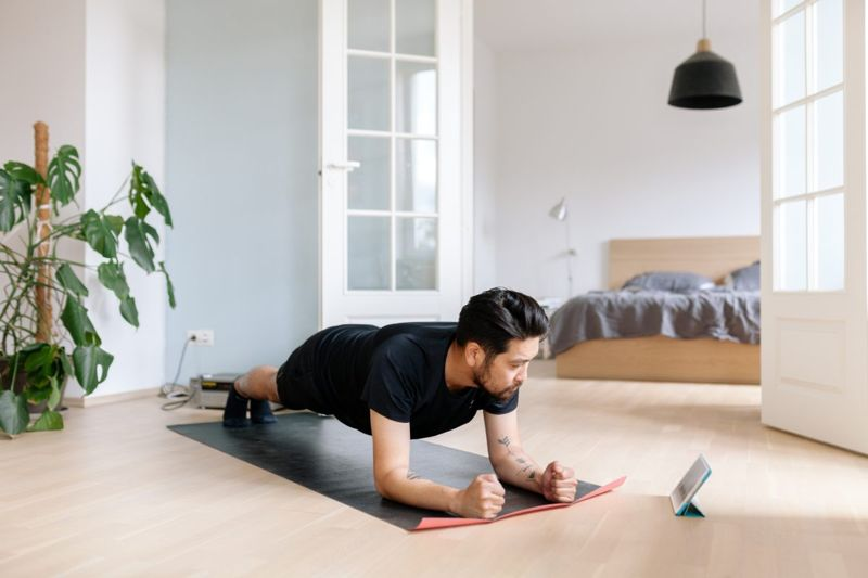 man plank exercise