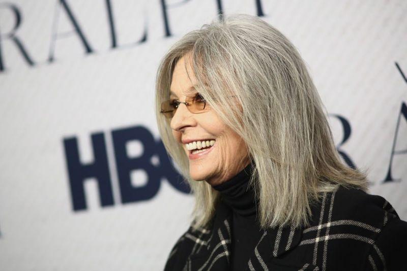 Diane Keaton Stylish at Premiere