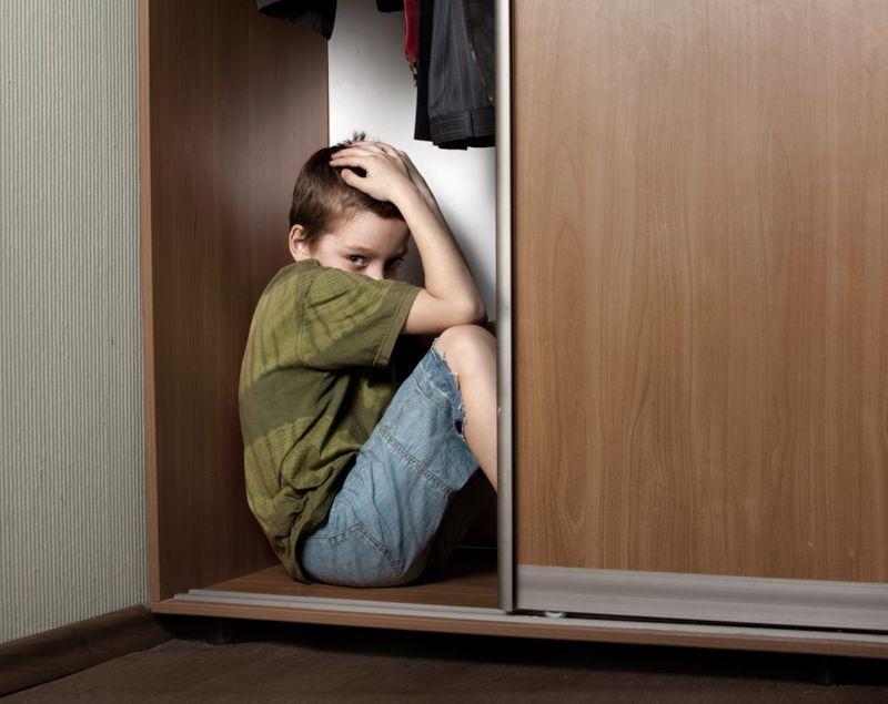 childhood abuse closet