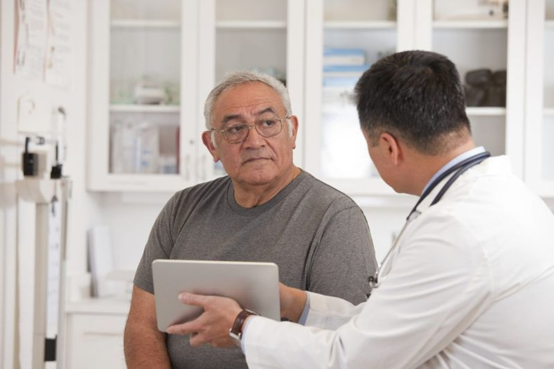 doctor patient discussion history