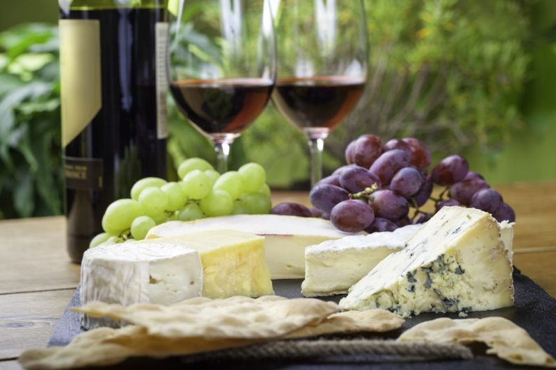 Engraved wine cheese board