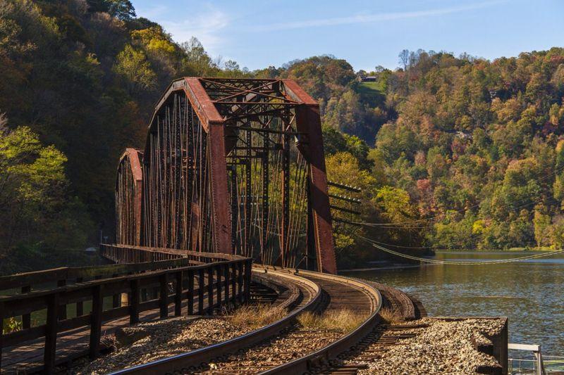 west virginia infrastructure poverty tracks