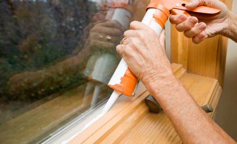 windows doors pests caulking