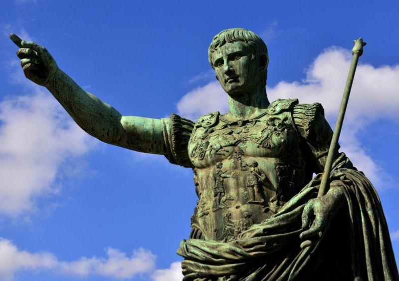 emperor augustus statue