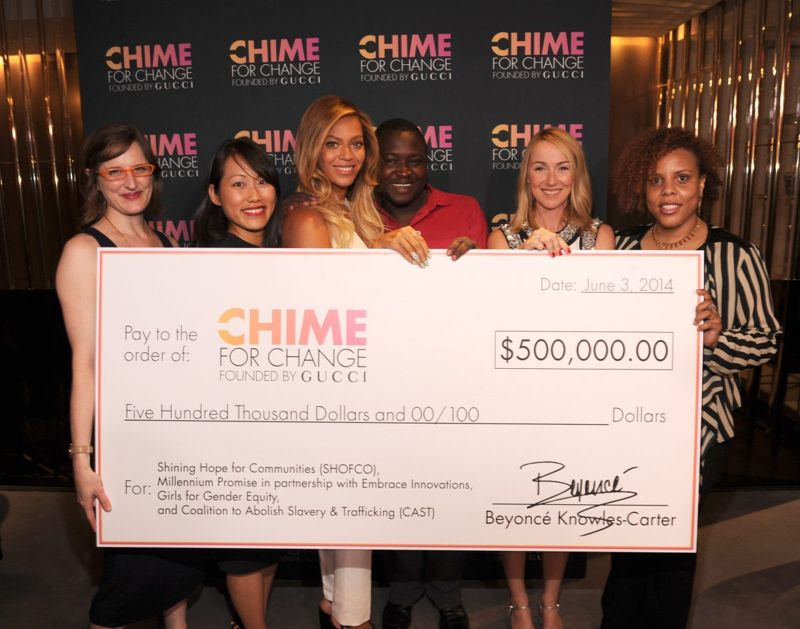 Chime for Change event