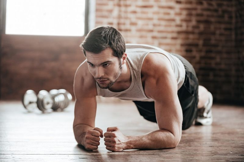 plank exercise core muscles