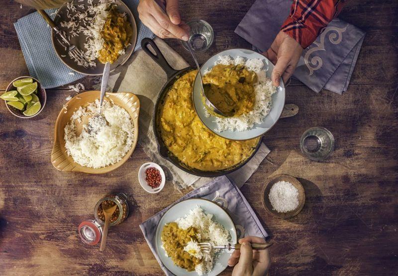 Recreate an Indian feast