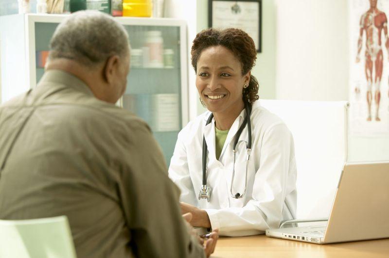 doctor medication talking
