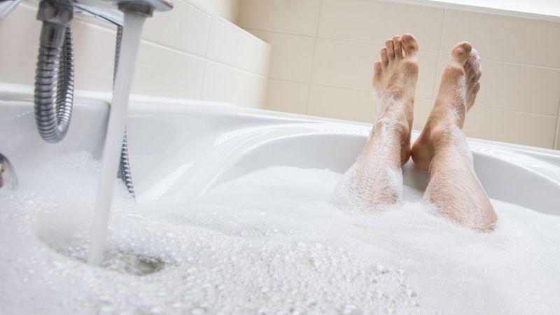 male hygiene bath