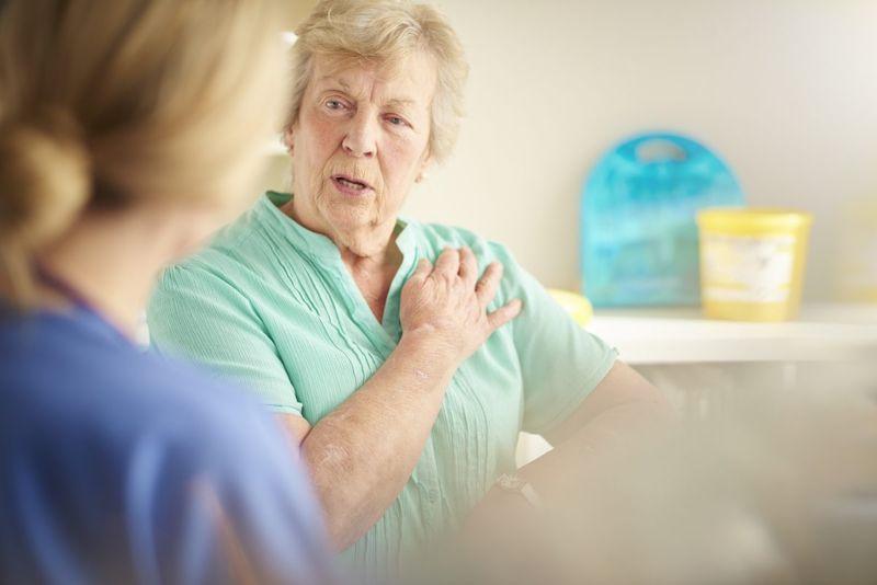 chest pain angina