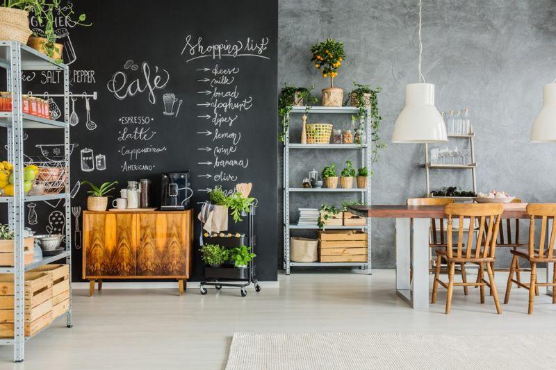 cart dresser repurpose coffee station