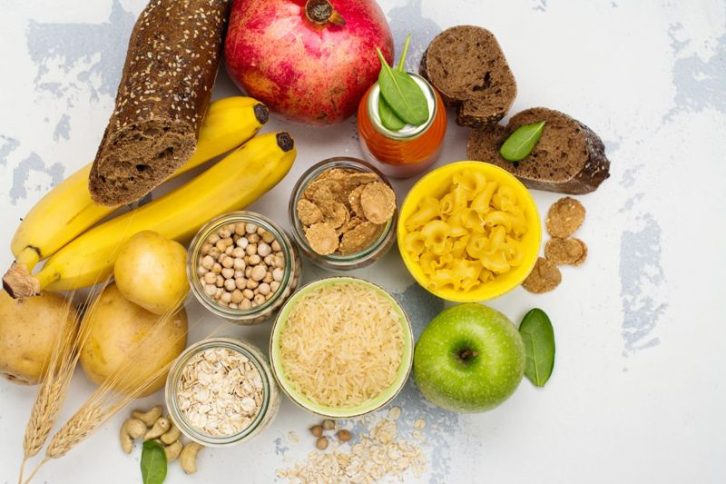 Complex carbohydrates fructose whole grains