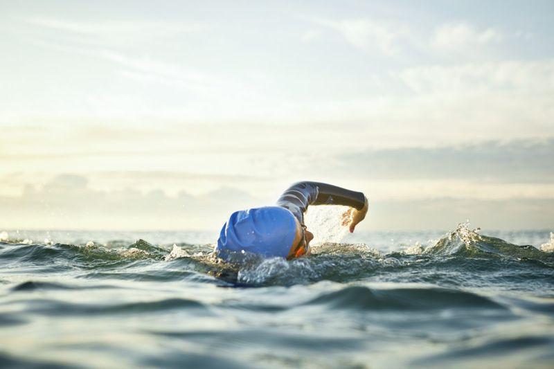 swimmer woman water