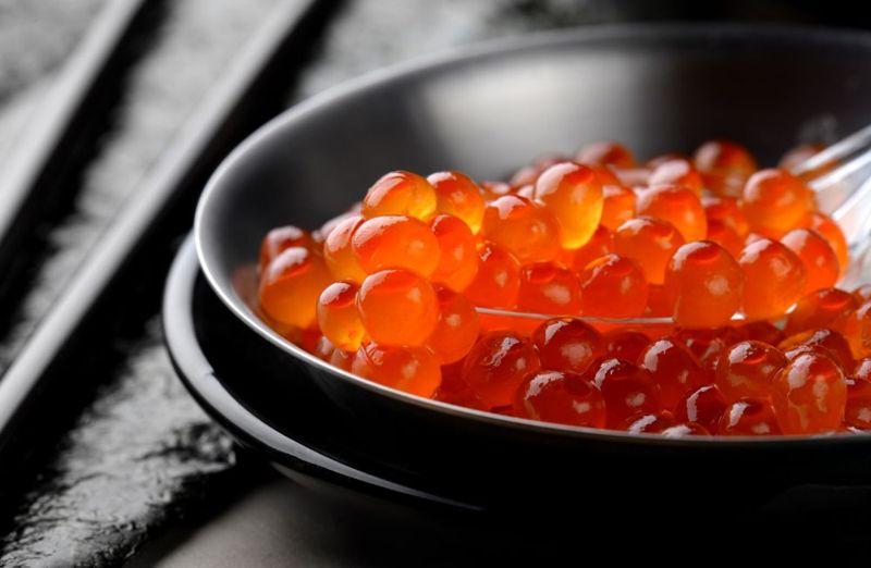 high vitamin D salmon fish roe