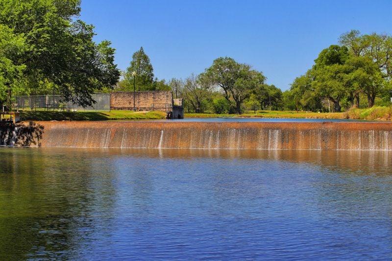 Lampasas Texas city park