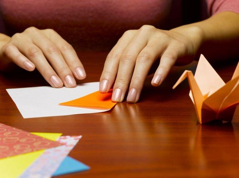 folding origami hobby