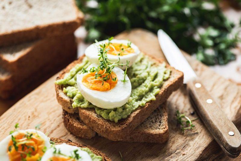 healthy breakfast collagen production