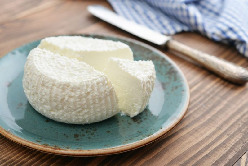 ricotta cheese plate