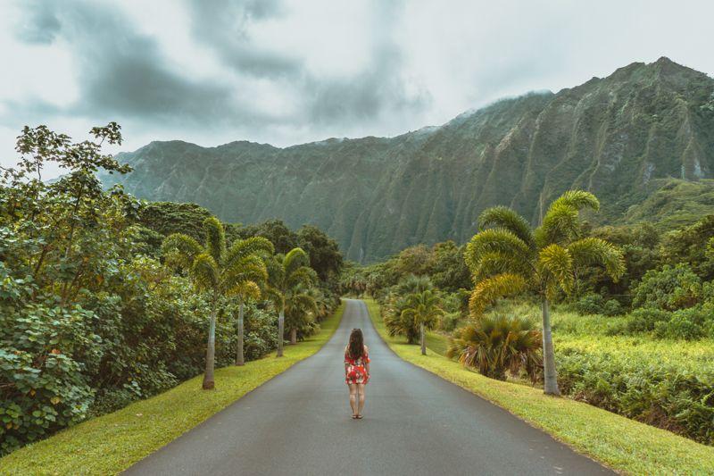 Ho'omaluhia Botanical Gardens Oahu