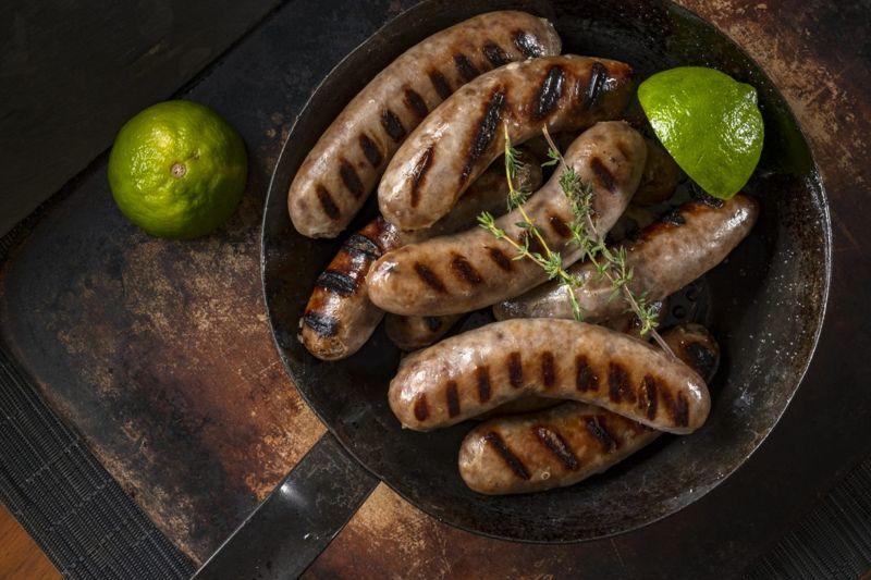 chicken sausage link